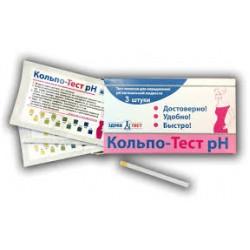 Кольпотест РН №1,Тест для диагностики влагалищн кислотности