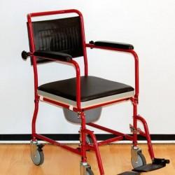 Коляска инвалидная (каталка с туалетом) FS 692-45