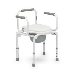 Кресло-туалет FS 813 с откидными подлокотн. Армед