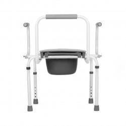 Кресло-туалет TU-3 (шир.46, 130 кг) с откидными подлокот.