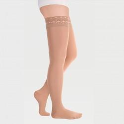 ID-301 (T ) (W) (TW) Чулки Luomma Idealista  компрессионные 1-2 кл, закрытый носок, ажурная резинка