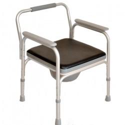 Кресло-туалет складное FS895L с санитарным  оснащением