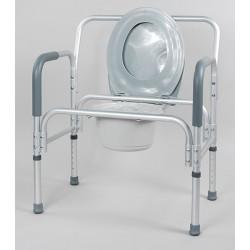 Кресло-туалет 10589 (шир. 62, до 180 кг)